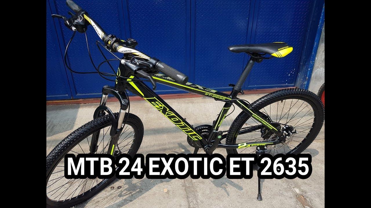 Sepeda Gunung MTB 24 EXOTIC ET
