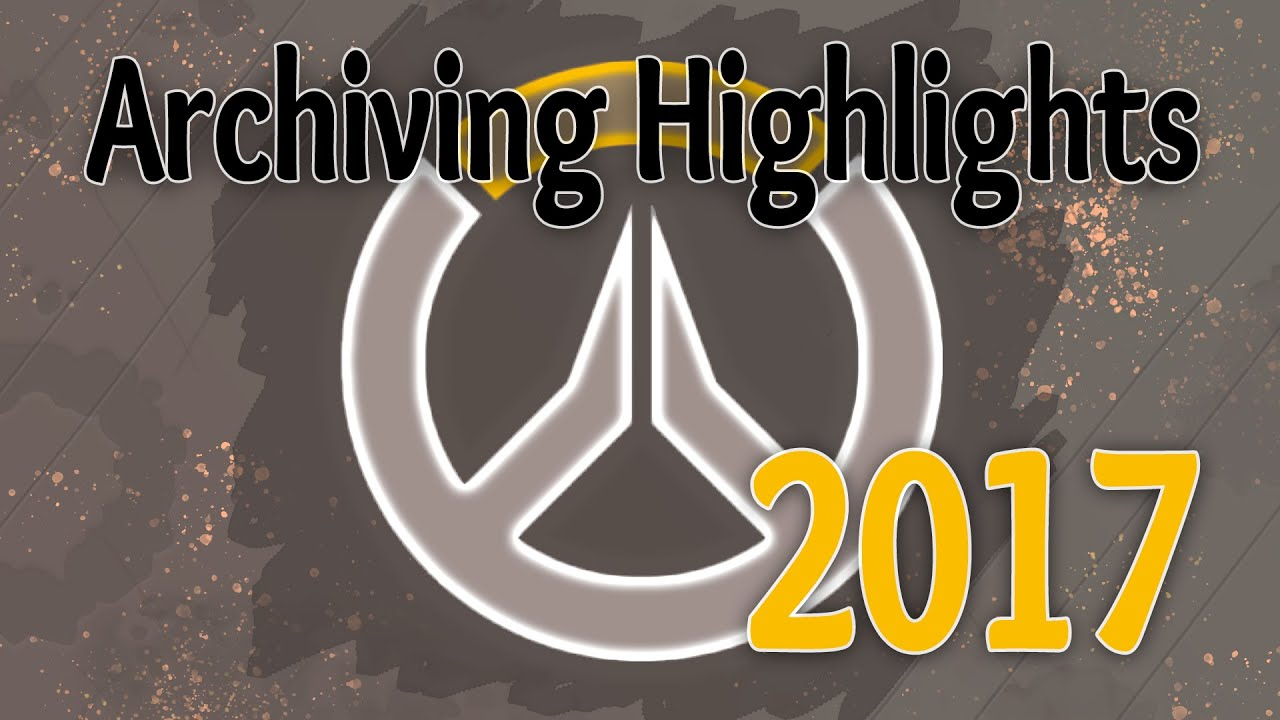 A Player's Almanac - 2017 / Overwatch Highlights / Gold Level / Archival Footage
