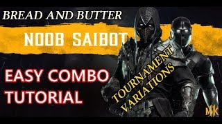 Download Video Noob Saibot Basic Combo tutorial -Mortal Kombat 11- Tournament variations MP3 3GP MP4