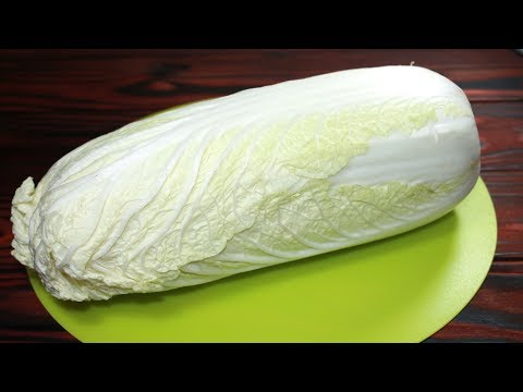 Два рецепта из Пекинской капусты. Салат из пекинской капусты и конверты в кляре
