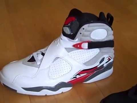 new arrival d0fc7 7b015 Air Jordan 8 (VIII) Retro - White Red