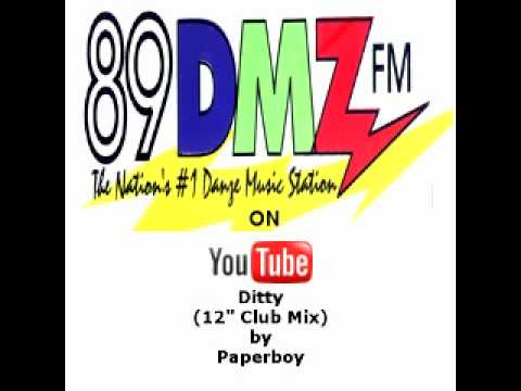 "89 DMZ Ditty (12"" Club Mix) by Paperboy"