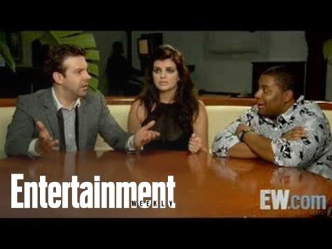 SNL: Jason Sudeikis, Casey Wilson & Kenan Thompson On Race Relations | Entertainment Weekly