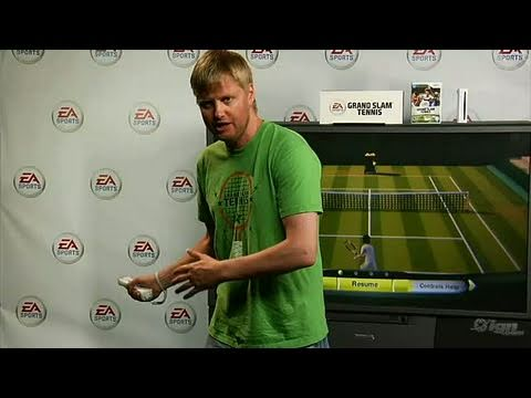 Grand Slam Tennis Nintendo Wii Video - WMP Tutorial
