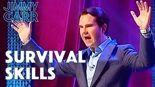 Surviving In The Wild | Jimmy Carr: Comedian