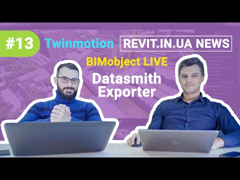 Revit In UA News | 2020#05(013) - BIMobject Live | Twinmotion | Unreal Engine ...