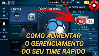 FIFA 19 MOBILE,COMO AUMENTAR O GERENCIAMENTO DO SEU TIME RÁPIDO E COMO GANHAR MOEDAS RÁPIDO