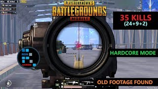 [Hindi] PUBG MOBILE | INSANE HARDCORE MODE OLD FOOTAGE FOUND