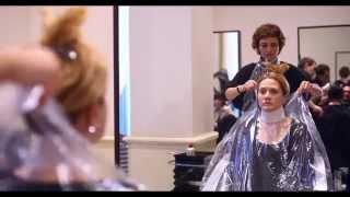 видео окрашивание волос 3d