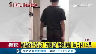 家暴落幕!肉圓案父母已離婚 兒「拒爸探視」|三立新聞台