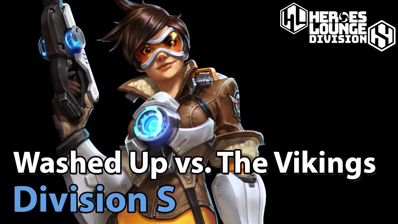 ► Washed Up vs. The Vikings - Division S - Heroes of the Storm Esports