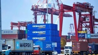 Outside the US the global economy is slowing, it's an issue particularly for Europe and China:...
