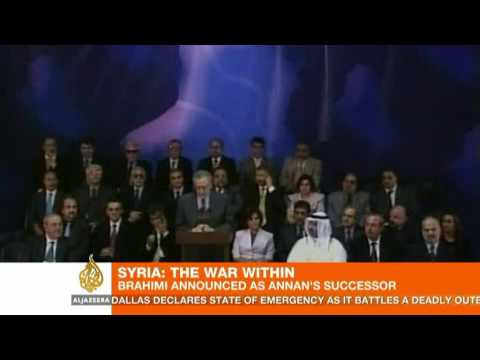 Lakhdar Brahimi's challenge: Steer Syria to peace