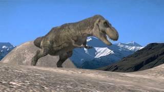 Les dinosaures - T-Rex 3D Animation