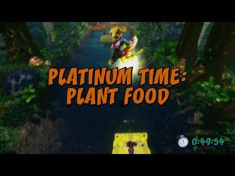 Plant Food Platinum Time