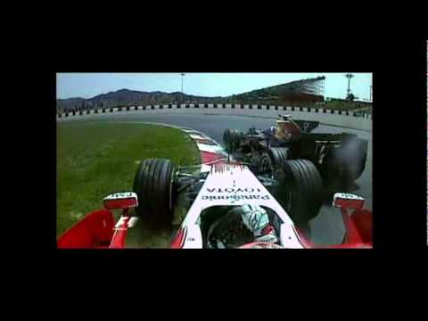 Formula 1 2008 Accidents
