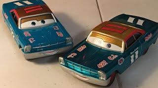Disney Cars Metallic Mario Andretti Diecast Review