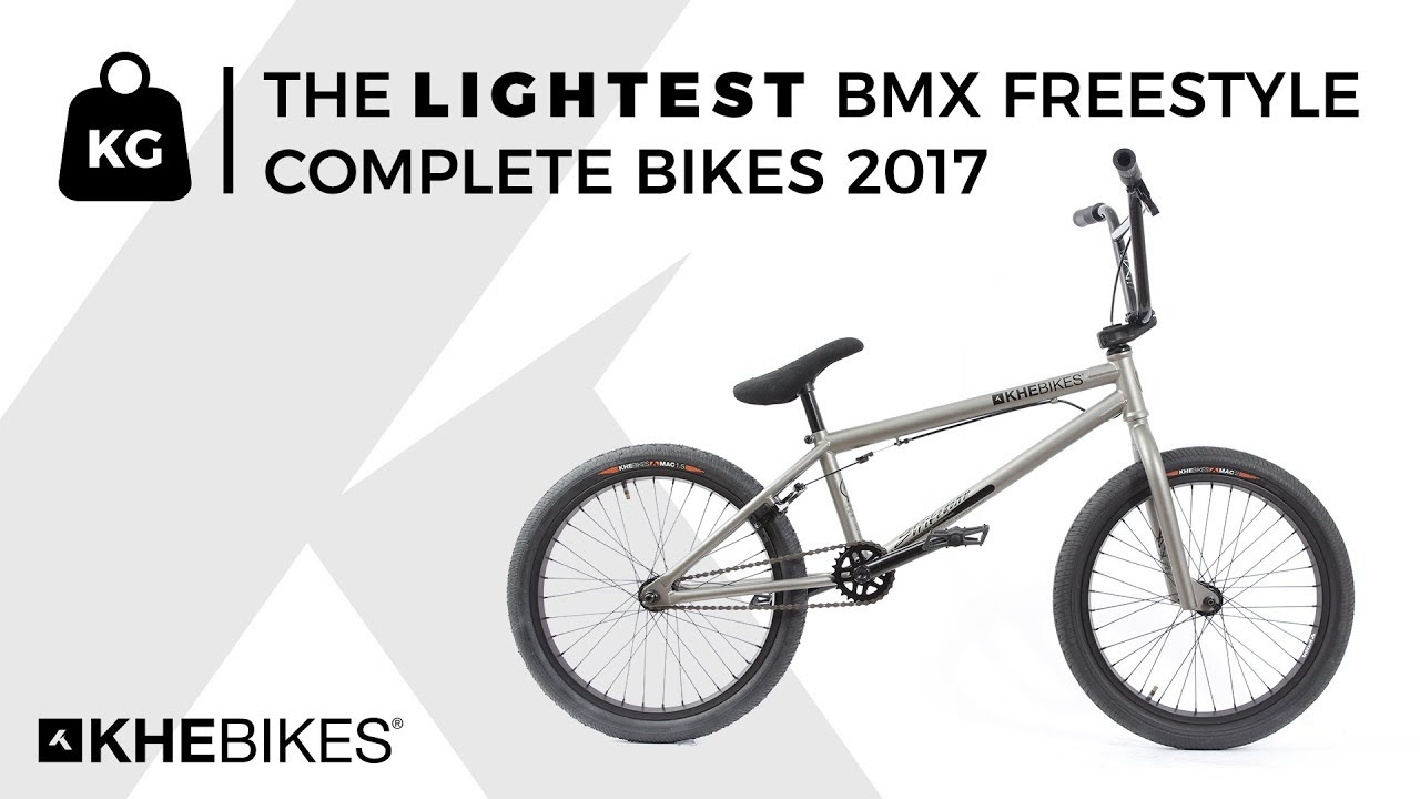 KHEbikes - the lightest BMX freestyle complete bikes 2017 - YouTube