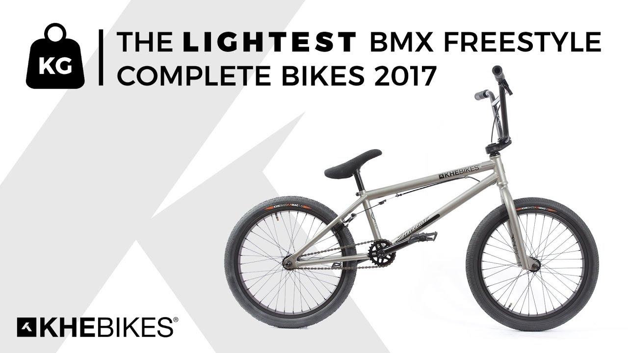 KHEbikes - the lightest BMX freestyle complete bikes 2017 - YouTube
