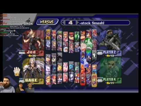 Super Smash Bros. Brawl: Project M: Patt Edition version -09 - PITFALLS ARE EVIL