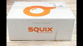 Squix January 2018 Introductory Box Unboxing, Coupon + Free Gifts