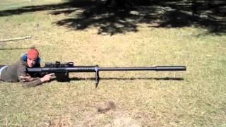Fusil sniper le plus long du monde