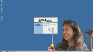 Mum Tries To Destroy Windows 2000 (2000) - OSFirstTimer Advanced #2