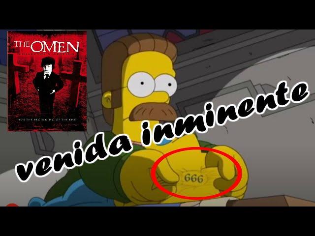 Los Simpson anuncian al anticristo