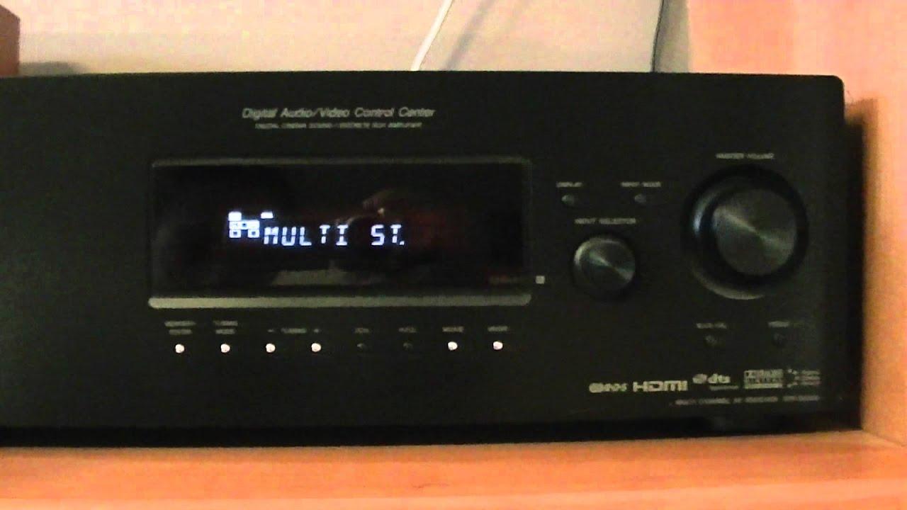 amplituner sony str dg510 buczy youtube rh youtube com sony str dg520 manual connect ir emitter sony str dg520 manual connect ir emitter