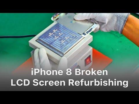 iPhone 8 Broken LCD Screen Refurbishing - Glass Only Repair
