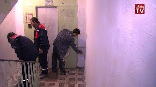 В микрорайоне Левобережный начали капитальный ремонт подъездов в жилых домах