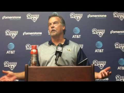 Jeff Fisher discusses Rams 49-21 loss to the Saints