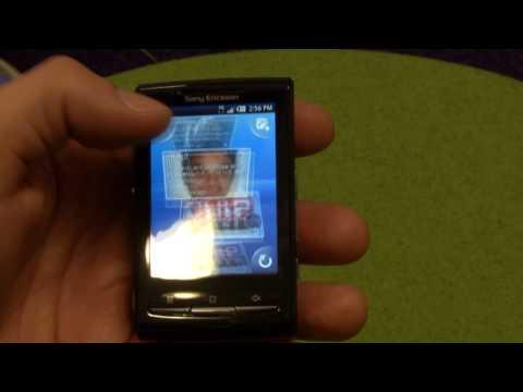 Timescape and Music Player in XPERIA X10 mini