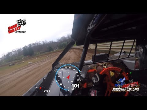 #0K Fast Freddie Carpenter - Super Late Model - 4-14-18 Ohio Valley Speedway - In Car Camera