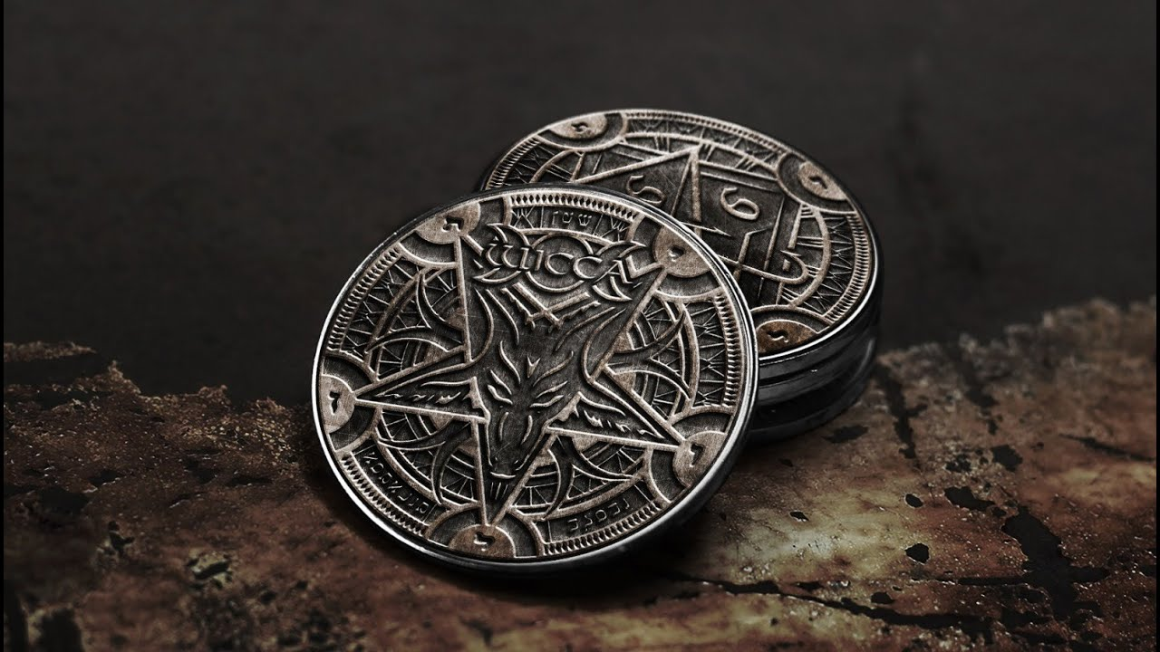 MONEDA DE LUCIFER 666