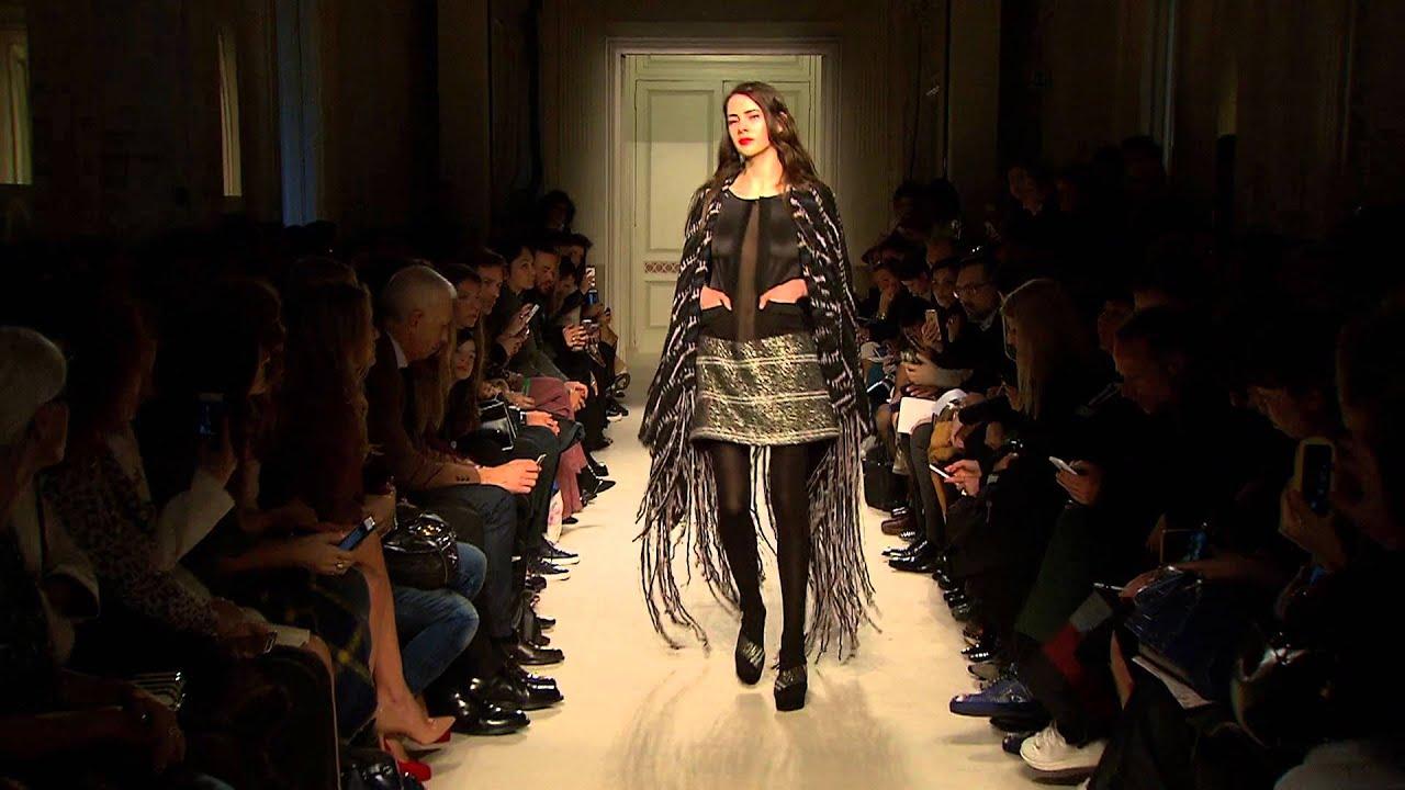 finest selection 81c13 b7303 KRISTINA TI sfilata F/W 2016-2017 Milano moda donna