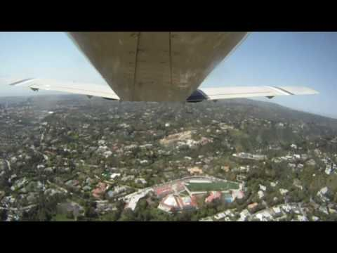 Aerial tour of Hollywood celebrity homes, mansions and sceneries in  Los Angeles - Part One
