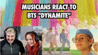 Musicians React to BTS (방탄소년단) - 'Dynamite' Official MV (First Time Listening to K-Pop)