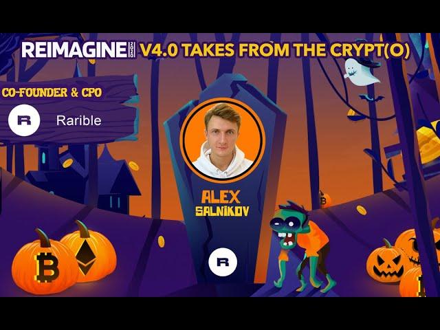 Alexander Salnikov - Rarible $RARI - Rethinking Digital Ownership
