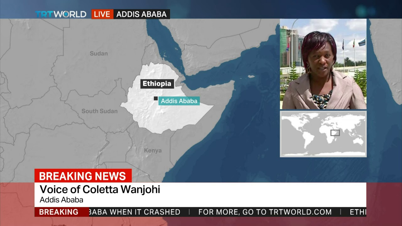 Ethiopian Airlines says 157 people on board the crashed plane