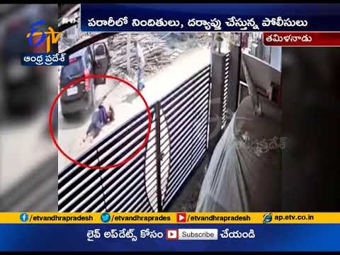 On CCTV, Tamil Nadu Woman Pushed From Car, Allegedly By In Laws