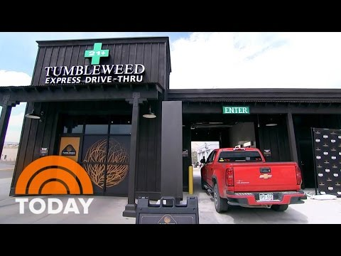Colorado Pot Shop Opens Nation's First Drive-Thru Dispensary | TODAY