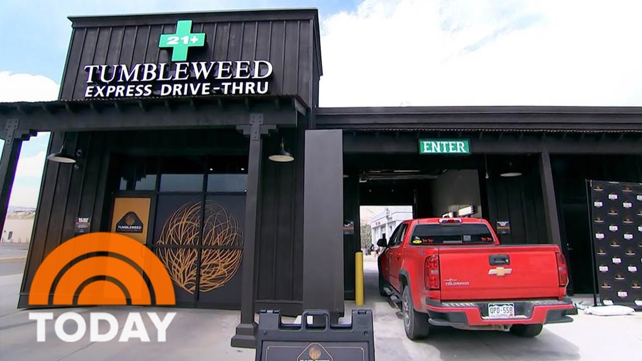 Colorado Pot Shop Opens Nation's First Drive-Thru Dispensary | TODAY