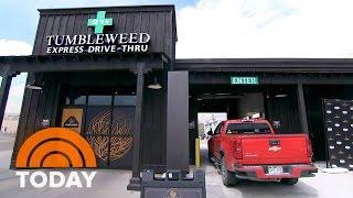 Colorado pot shop opens nation's first drive-thru dispensary   today