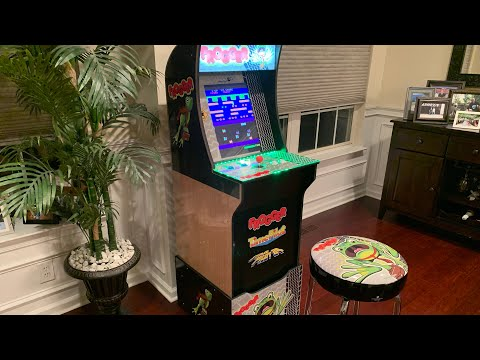 FROGGER Arcade1up FULL REVIEW! from The 3rd Floor Arcade with Jason