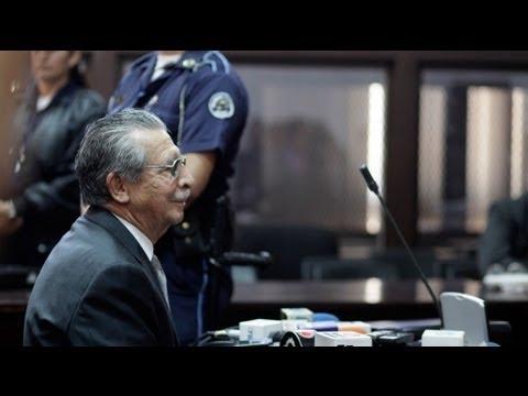 Prozess gegen Rios Montt eräffnet