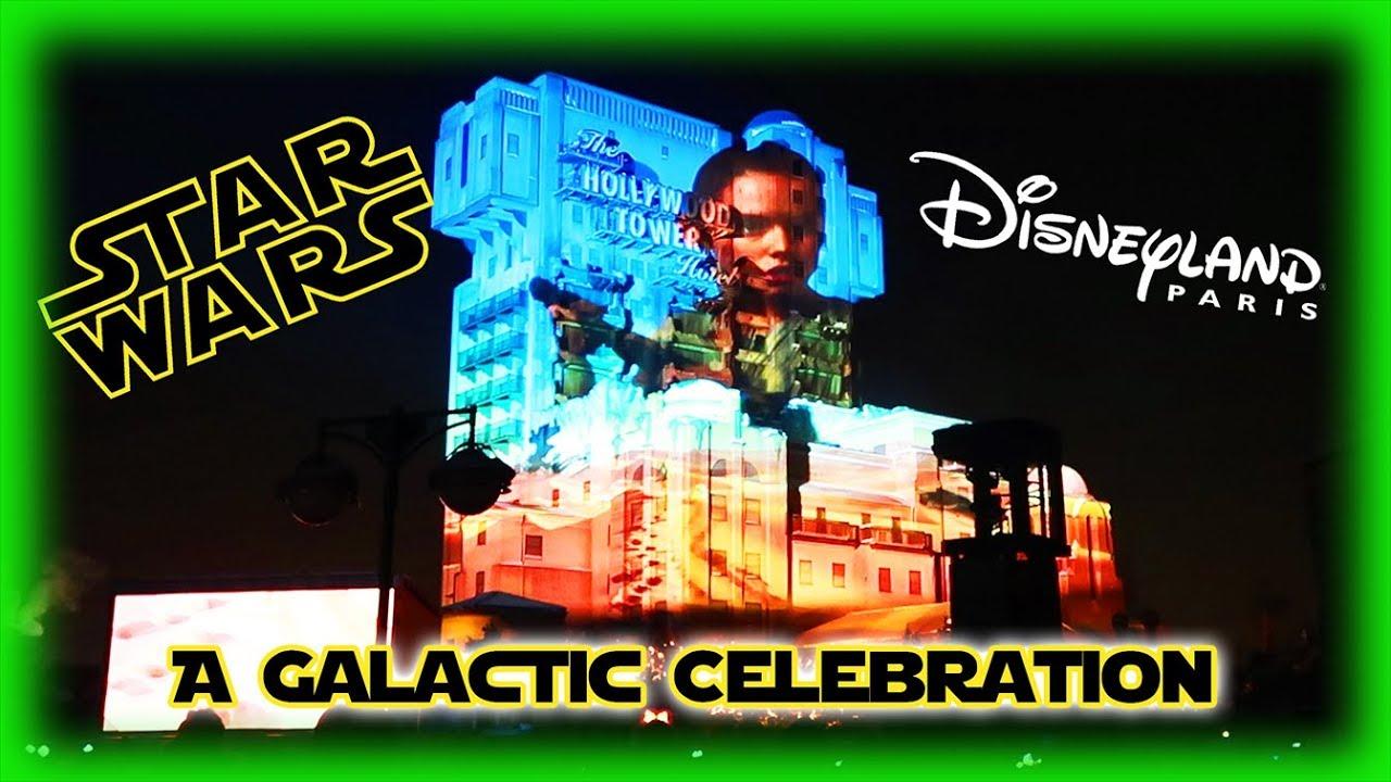 Star Wars - A Galactic Celebration 2018 - Full Show - Disneyland ...