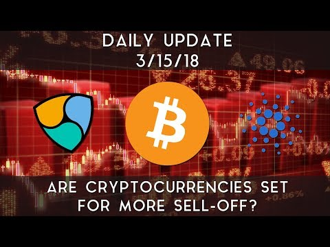 Daily Update (3/15/2018) | Are cryptocurrencies set for more sell-off?