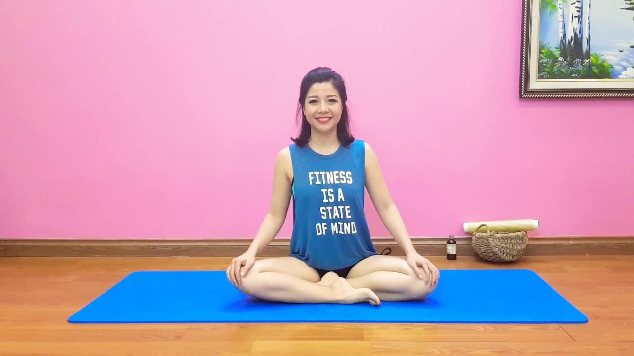 Yoga tại nhà: 7 ngày giảm mỡ bụng cùng Nguyễn Hiếu Yoga.