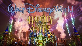 Walt Disney World's Magic Kingdom - Happily Ever After projection /...